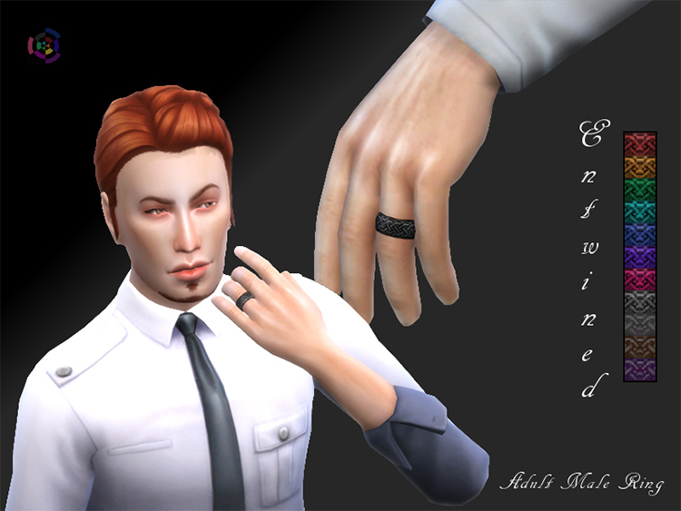 Custom entwined ring CC for TS4