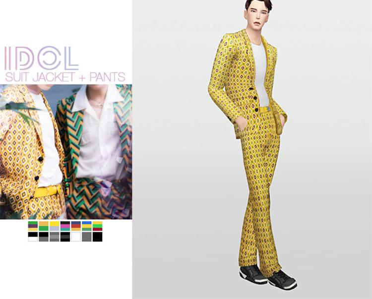 IDOL Suit Jacket CC Set