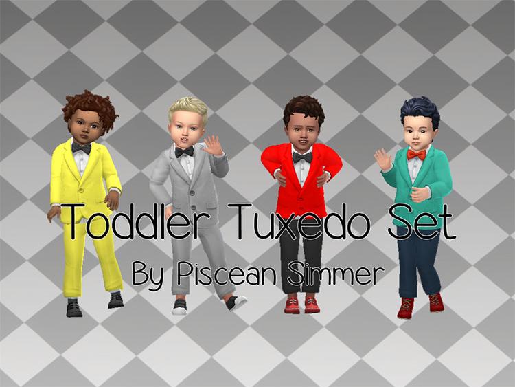 Toddler Tuxedo CC for The Sims 4