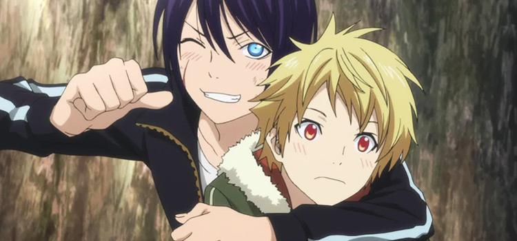 Noragami Aragoto Yato and Yukine - Anime Screenshot
