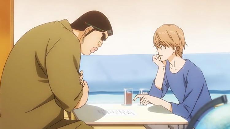Takeo And Sunakawa from My Love Story anime