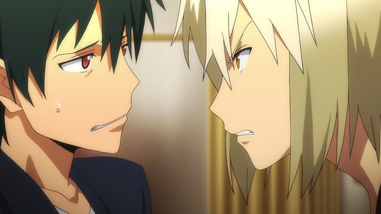 Sadao and Alsiel from The Devil is a Part-Timer!