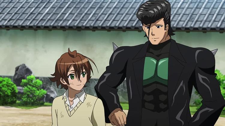 Tatsumi and Bulat in Akame ga Kill