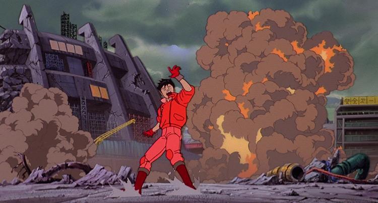 Akira anime screenshot