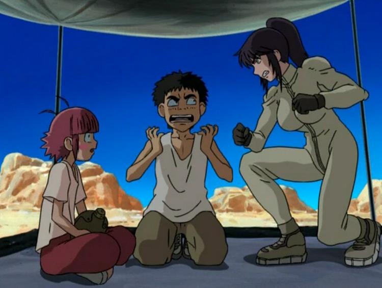 Desert Punk anime screenshot