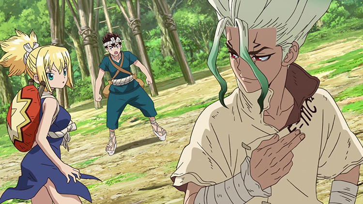 Dr. Stone anime screenshot