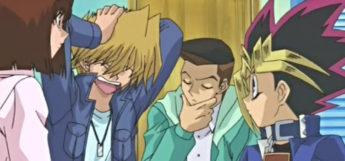 Yugi, Tea, Joey and Tristan - YGO Anime