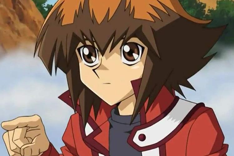 Jaden Yuki Yu-Gi-Oh anime screenshot
