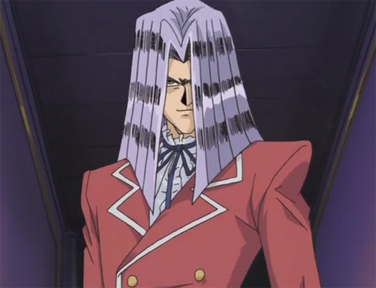Pegasus from Yu-Gi-Oh anime