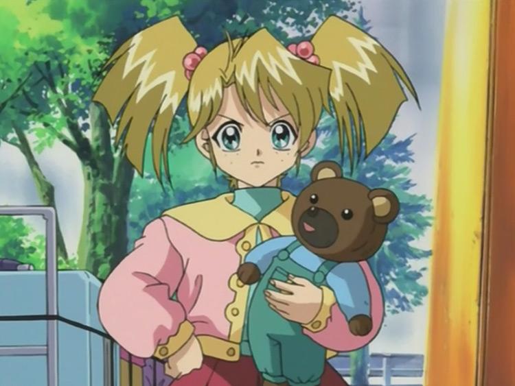 Rebecca Hawkins from Yu-Gi-Oh anime