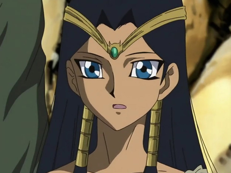 Ishizu Ishtar Yu-Gi-Oh anime screenshot