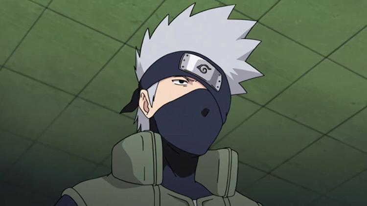 Kakashi from Naruto anime