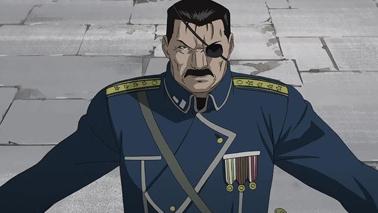 King Bradley from Fullmetal Alchemist: Brotherhood anime