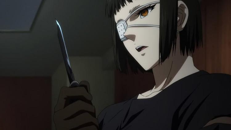 Sofia Valmer in Jormungand anime
