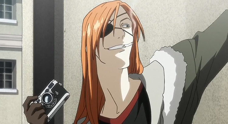 Badou Nails in Stray Dogs Howling in the Dark anime