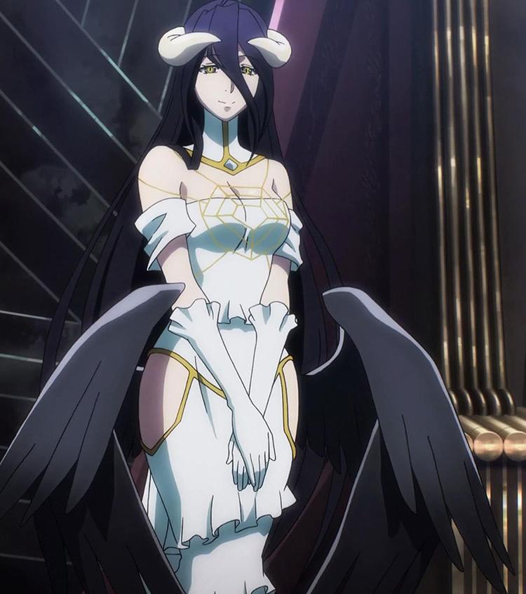 Albedo in Overlord anime