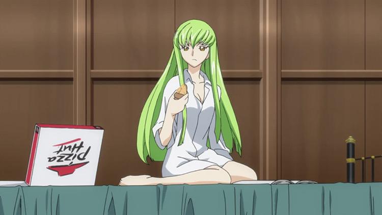 C.C. Code Geass anime screenshot
