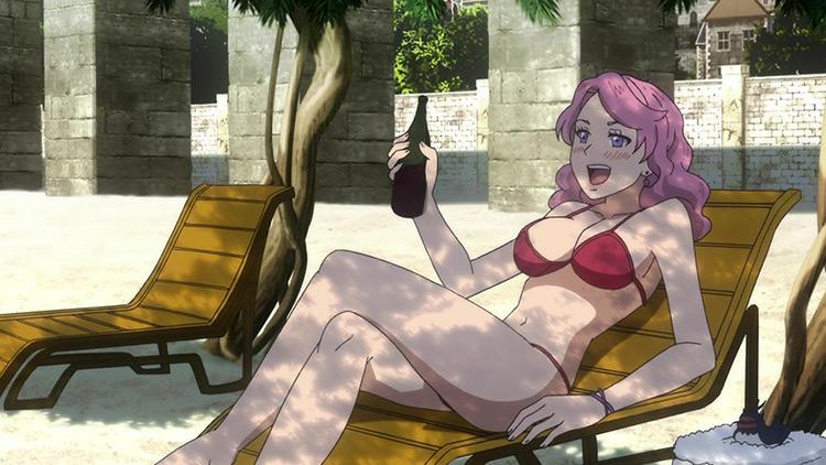 Vanessa Enoteca from Black Clover anime