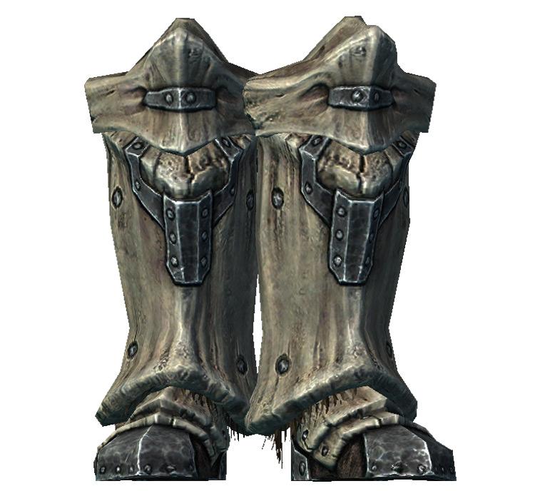 Dragonplate Boots in Skyrim