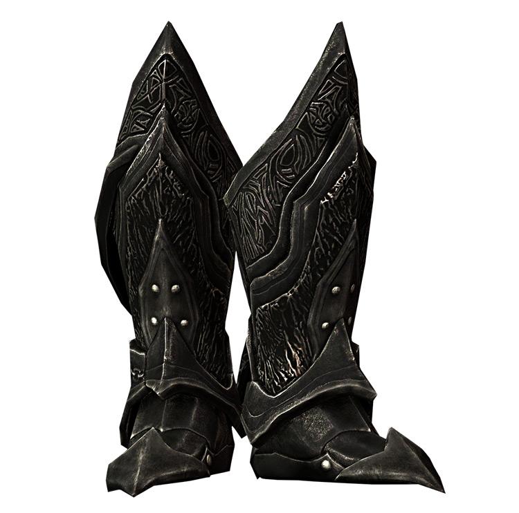 Daedric Boots in Skyrim