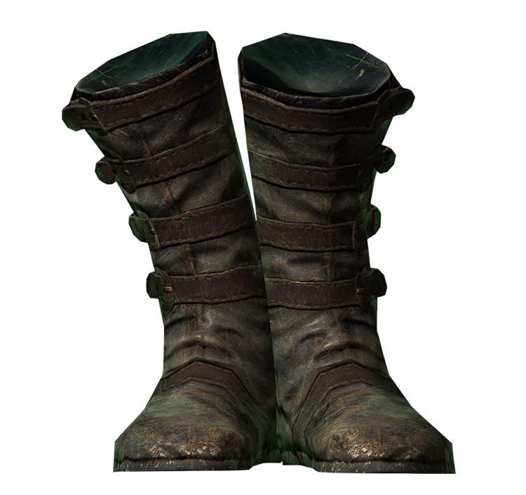 Blackguard's Boots in Skyrim