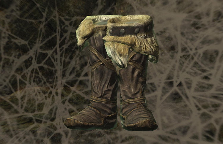 Movarth's Boots in Skyrim