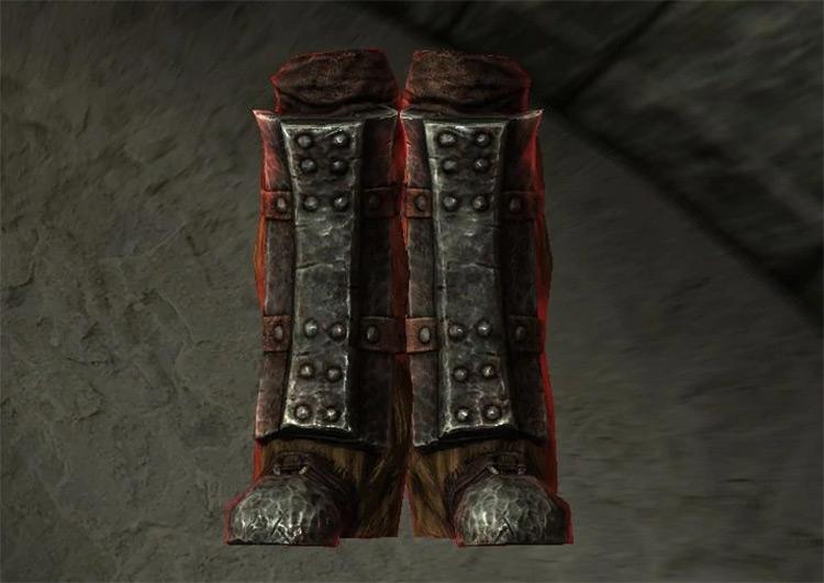 Azhidal's Boots of Waterwalking in Skyrim