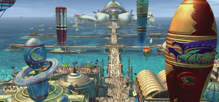 Luca, city in Spira - Birds eye view in HD