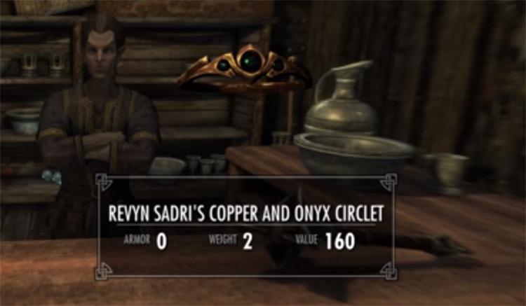 Revyn Sadri's Circlet in Skyrim