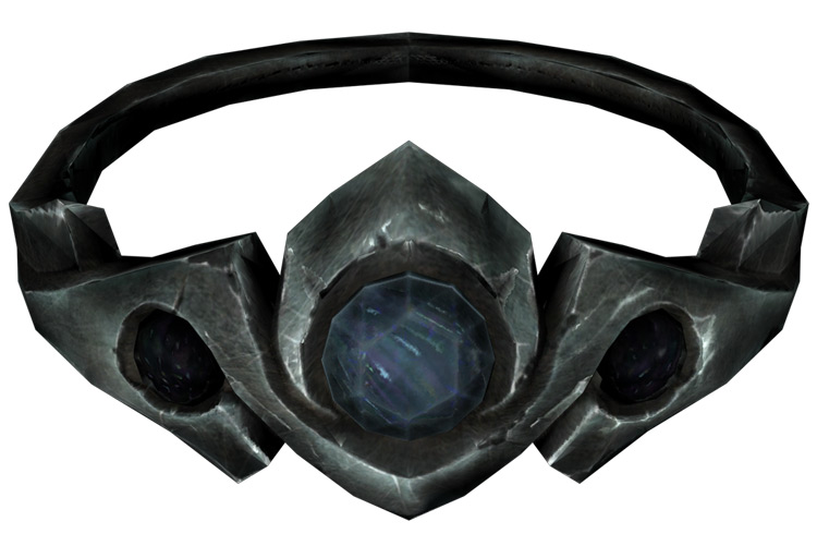 Silver and Sapphire Circlet Skyrim