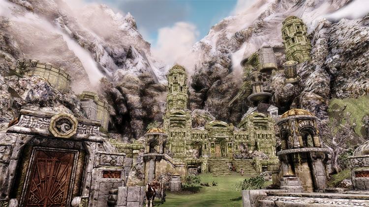 Markrath city in Skyrim