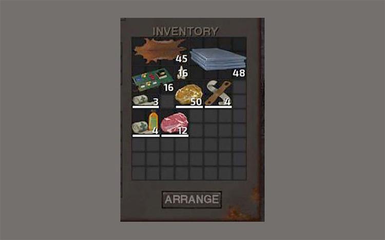 Stackable Items Kenshi mod