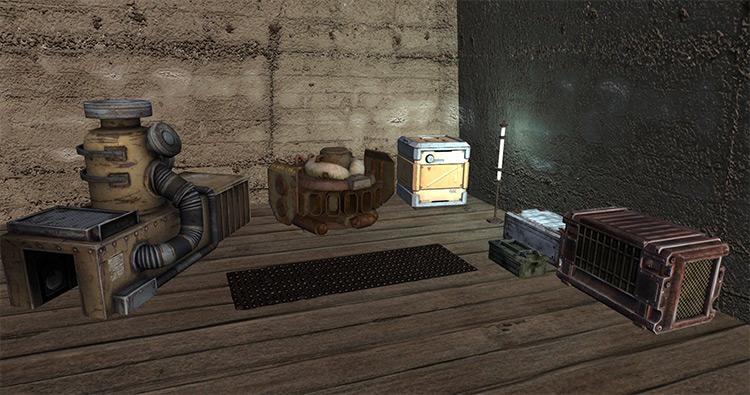Interior/Exterior Design Kenshi mod
