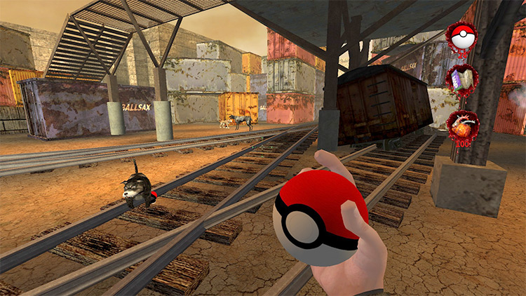 Pokeballs in Postal 2