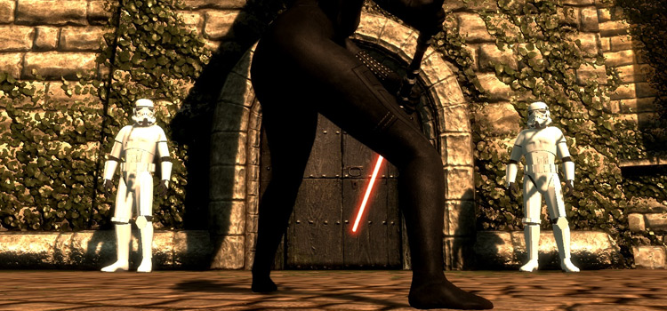 Star Wars in Skyrim with Battletroopers