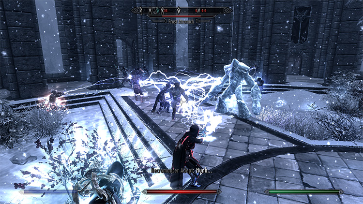 Way of The Force Skyrim mod
