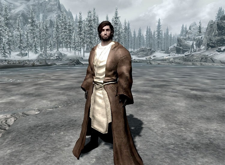 Jedi Robes and Outfits Skyrim mod