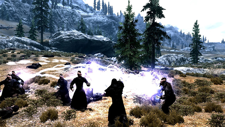 Star Wars Force Abilities mod for Skyrim