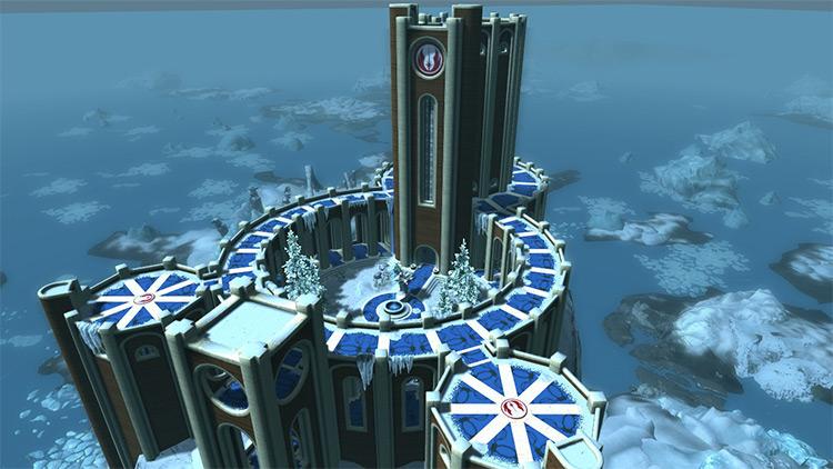 Jedi Temple mod in Skyrim