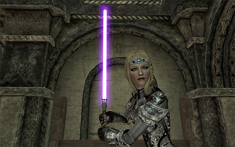Magicka Sabers mod in Skyrim