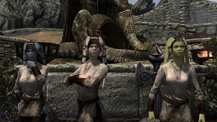 Twilek Race mod for Skyrim