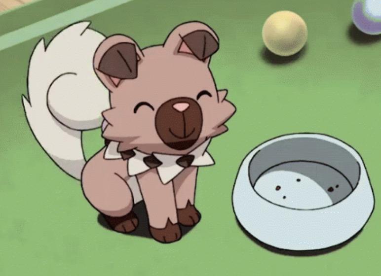 Rockruff anime dog Pokemon