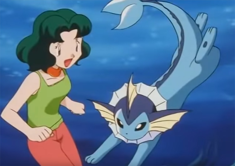 Vaporeon from the anime
