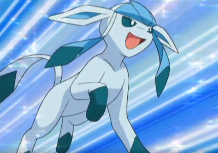 Glaceon from Pokemon anime