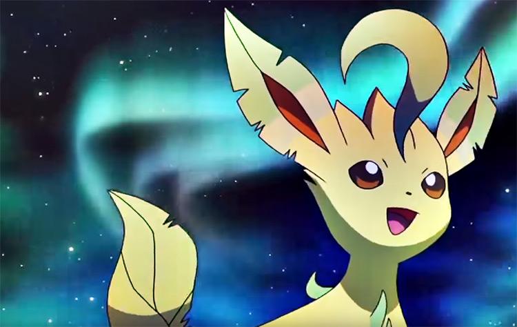 Leafeon from Pokemon anime