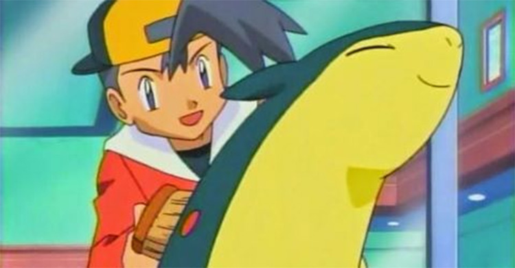 Typhlosion screenshot from anime
