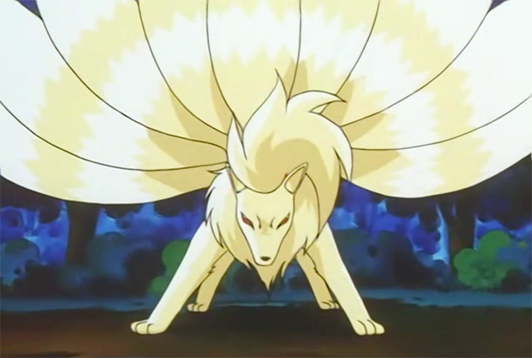 Ninetales from Pokemon anime
