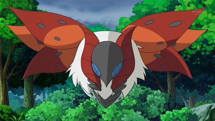 Volcarona from the Pokemon anime