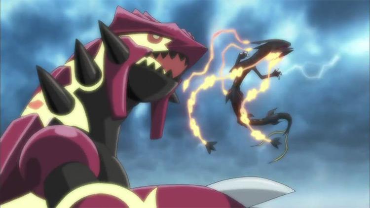 Groudon from the Pokemon anime