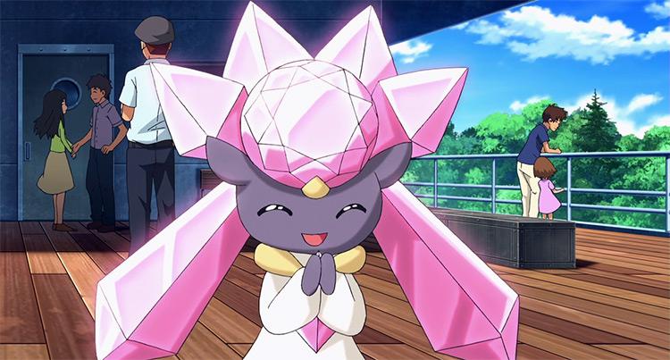Diancie in Pokemon